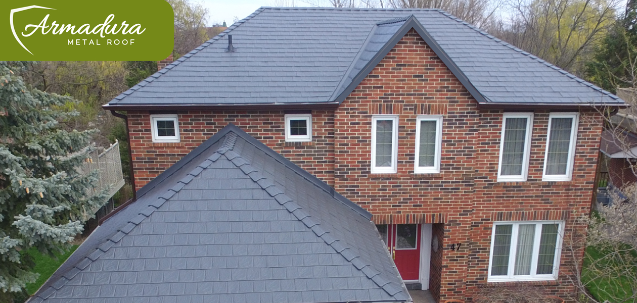 Canadian Made Roofing grey - North America North America Metal Roofing